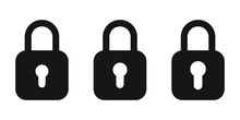 Lock Vector Icon, Padlock Icon...