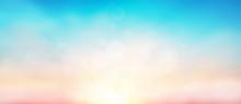 Blur Pastels Gradient Sunset B...