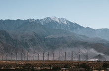 Wind Turbines At Palm Springs