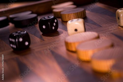 Backgammon Fototapete