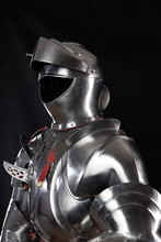 Medieval Knightly Armor, Full ...