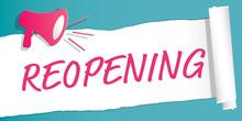 Reopening Label Illustration