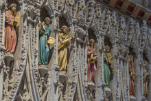 The Rood Screen In Ripon Cathedral