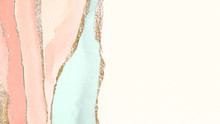 Pastel Watercolor Banner