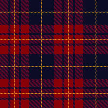 Classic Plaid Tartan (red,blac...