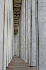 Columns of the Library of Congress, in Wshington D.C.