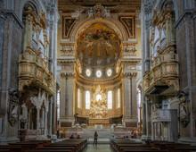 Main Altar Of The Naples Cathe...