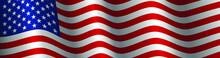 United States Flag Vector Clos...