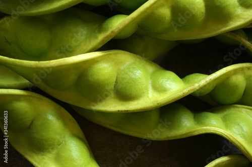 Fotografie, Tablou Stinky bean/Smelly bean or Indonesians used to call it petai/pete