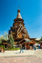 Moscow, Russia,  Wooden St. Ni...