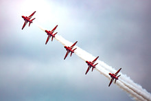 Red Arrows Slalom Formation