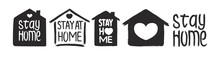 Stay Home - Hand Drawn Vector ...
