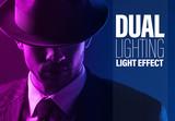 Dual Lighting Overlay Effect - 341439407