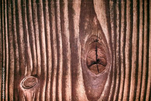 Fotografia Primo piano venature legno invecchiato
