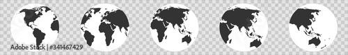 Fotografía World map globe