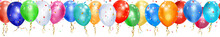 Banner Of Colorful Balloons, R...