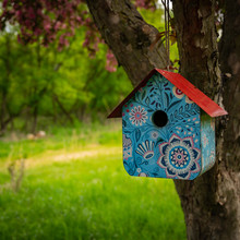 Birdhouse With A Bit Of Whimsy