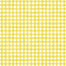 Watercolor Gingham, Seamless Vector Pattern