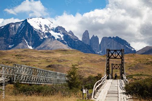 parque nacional torres del paine, Chile Canvas Print