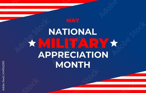 Stampa su Tela National military Appreciation Month