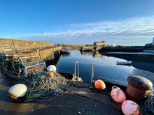 Fishing Pots By The Edge Of A ...