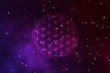 Abstact Flower Of Life Sacred ...
