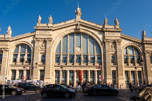 Fotografia Gare du Nord station in Paris, France
