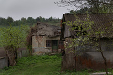 The Old Abandoned House Is Falling Apart