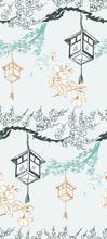 Lantern Japanese Chinese Desig...