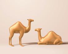 Cute Camel Figurine