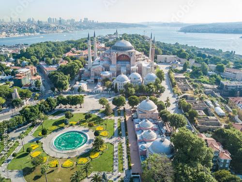 Valokuvatapetti Hagia Sophia Museum in Istanbul