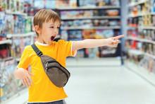 Boy Screams And Demands A Toy ...
