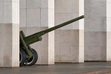 World War II Artillery Piece. ...