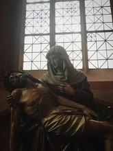 Pieta Statue In Frankfurt Cath...