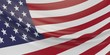 United States of America flag illustration.