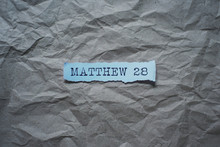 The Bible - Matthew 28. God`s ...