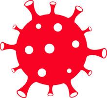 Covid-19. Coronavirus. Vector Illustration, Logo.