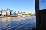 Fototapeta Londyn - Tamiza widok na miasto Londyn