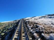Cog Railway Into The Mountains