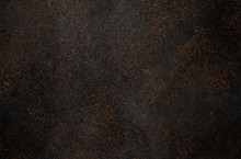 Brown Metal Or Stone Or Slate Surface Texture