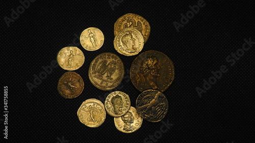 Fotomural Monedas antiguas