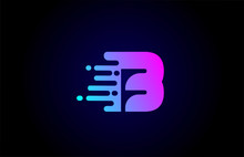 B Letter Logo Icon For Busines...