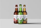 3 Beer Bottle Mockup - 341780011