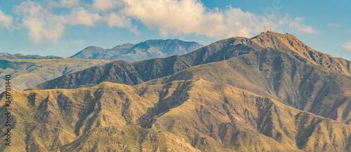 Photo Aerial Landscape Scene, Mendoza, Argentina