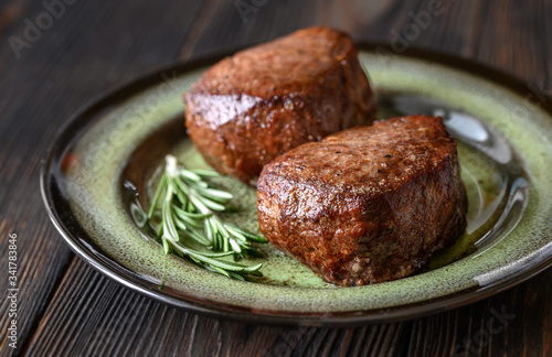 Fotografia, Obraz Filet mignon on the plate