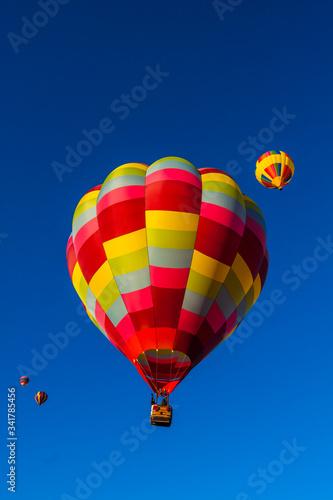Balloons Aloft For Early Morning Mass Ascension at The  Albuquerque Internationa Tapéta, Fotótapéta