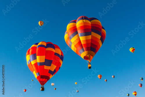 Photo Balloons Aloft For Early Morning Mass Ascension at The  Albuquerque Internationa