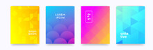 Color Gradient Background, Geo...