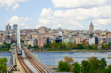 Top View Of Famous Golden Horn...
