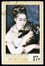 Postage Stamp Printed In Burun...